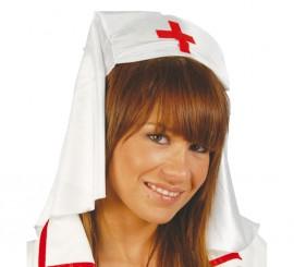 Tocado o Cofia de Enfermera de tela