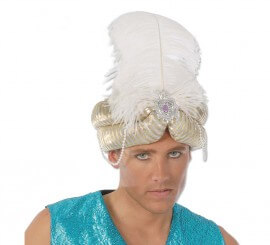 Sombrero o Turbante de Marajá o Paje Real