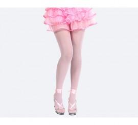 Pantys rosa talla única