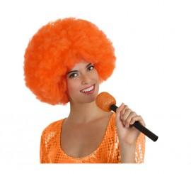 Micrófono Inalámbrico naranja de 27 cm