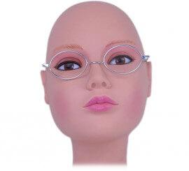 Gafas metálicas ovaladas