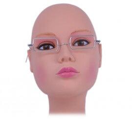 Gafas metálicas rectangulares