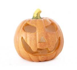 Calabaza pequeña para decoración de Halloween