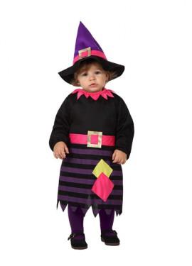 Disfraz de Bruja moderna para bebés de talla 0 a 6 meses