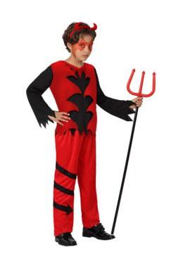 Disfraz de Diablo rojo para niños