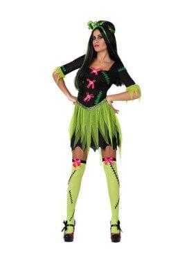 Disfraz Monstruo Frankenstein para mujer