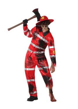 Disfraz de Bombero muerto para hombre