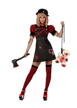 Disfraz de Muñeca Sangrienta para mujer