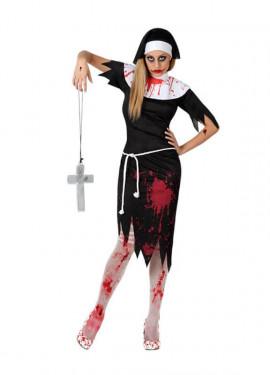Disfraz de Monja Muerta para mujer