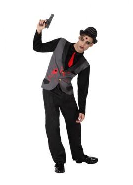 Disfraz de Mafioso Muerto para hombre