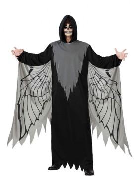 Disfraz de Ángel negro para hombre talla M-L