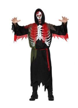 Disfraz de Demonio Esqueleto para hombre talla M-L
