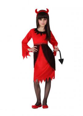 Disfraz de Diablesa para niñas