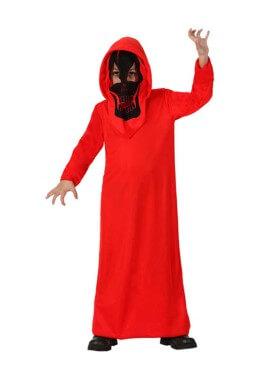 Disfraz de Fantasma Rojo para niños