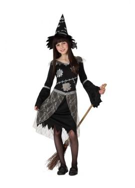 Disfraz de Bruja negro para niñas