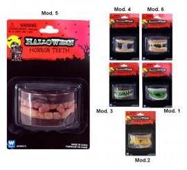 Dentier pour Halloween. Plusieurs modèles