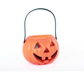 Cesta Calabaza 10 cm. para Halloween