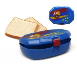 Sandwichera Deporte blaugrana del FC Barcelona de plástico