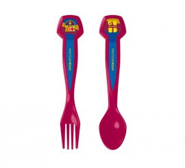 Set de 2 Cubiertos Deporte blaugrana del FC Barcelona