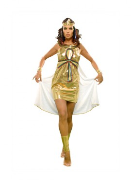 Disfraz de Nefertiti para mujer. Talla S