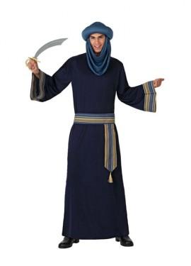Disfraz de Berebere o de Árabe azul para hombre talla M-L