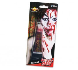 Sang Liquide Spécial pour Maquillage d'Halloween.
