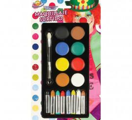 Paquet de Maquillage. 8 coloris