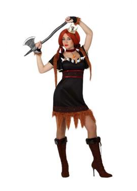 Déguisement Viking Marron pour Femme plusieurs tailles