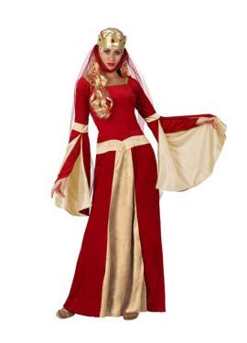 Déguisement Princesse Médiévale pour Femme plusieurs tailles