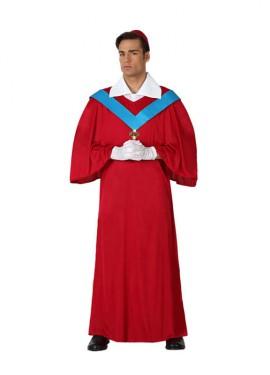 Disfraz de Cardenal para hombre talla M-L