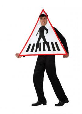 Disfraz Señal de Tráfico para adultos