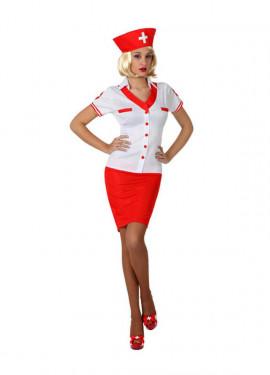 Disfraz de Enfermera Sexy para mujer