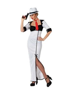 Disfraz de Mafiosa para mujeres