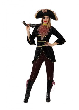 Déguisement de Pirate Élégant pour Femme taille M-L