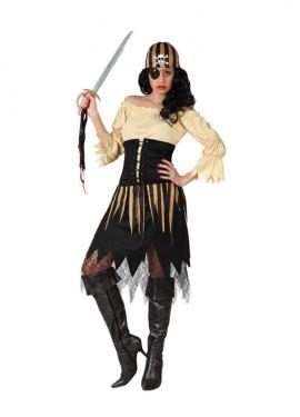 Déguisement de Pirate Tête de Mort pour Femme plusieurs tailles