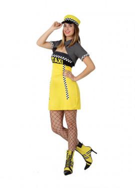 Disfraz de Taxista para mujer