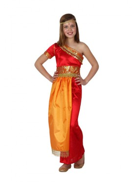 Disfraz de Hindú para Niña