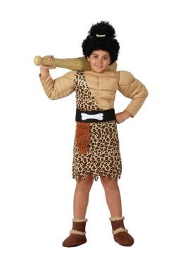 Disfraz de Cavernícola Musculoso para niños