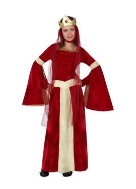 Disfraz de Dama Medieval para niñas