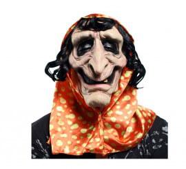 Masque de Vieille Sorcière en Latex pour Halloween