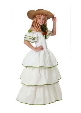 Disfraz de Dama Sureña para Niña