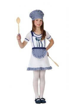 Disfraz para niñas de Cocinera