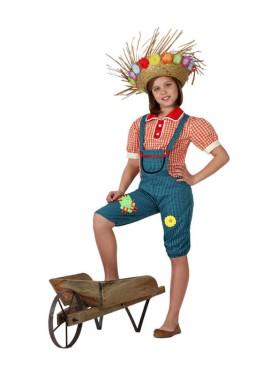 Disfraz de Granjera para niñas