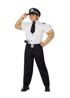 Disfraz de Policía Musculoso para niños