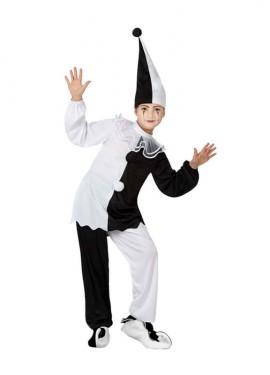 Disfraz de Pierrot para niños