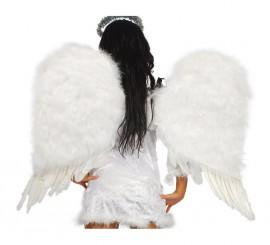 Alas de Angel de plumas 85 cm.