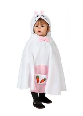 Déguisement Poncho Petit Lapin taille unique pour bébés