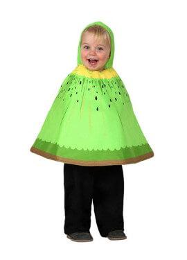 Disfraz o Poncho de Kiwi talla única de bebé