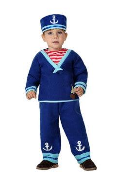 Disfraz de Marinero con ancla para bebés