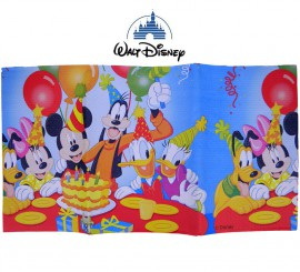 Bolsa de 1 mantel Mickey party 120X180 cm.